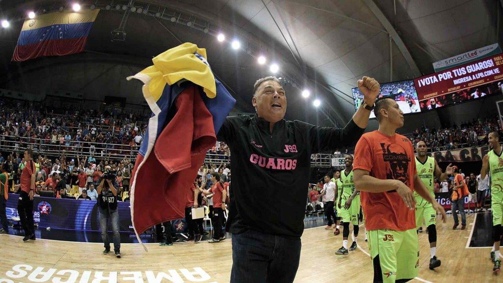 Jorge Hernández denuncia situación con respecto al Domo Bolivariano (Foto: FIBA)