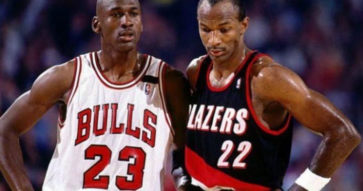 """Clyde Drexler sobre si Jordan es el GOAT: """"Odio cuando la gente actúa creyendo que es un juego de una persona"""""""
