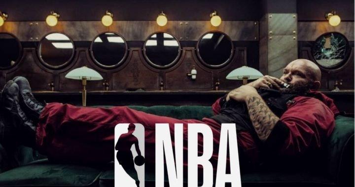 Estrella de La Casa de Papel será embajador de un equipo de la NBA