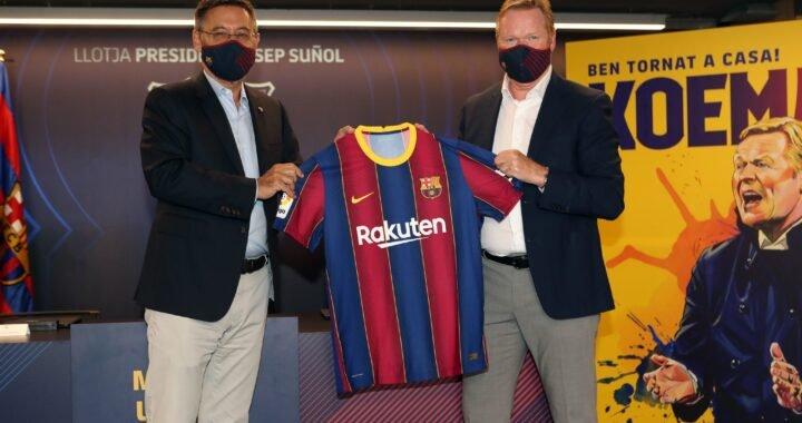 FC Barcelona confirmó la llegada de Ronald Koeman