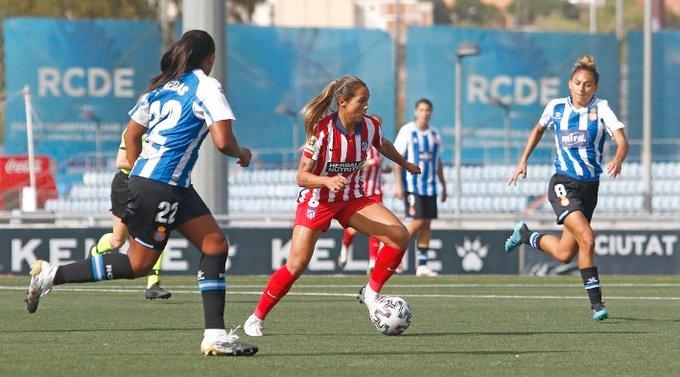 Deyna Castellanos marcó su primer gol con el Atlético de Madrid e hizo una dedicatoria especial